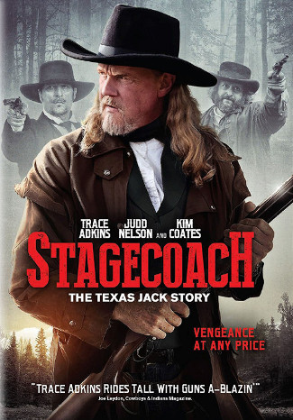 Stagecoach, The Texas Jack Story (2016) DVD cover