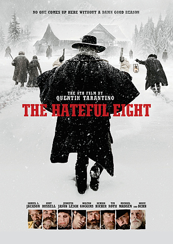 The Hateful Eight (2015) DVD cover