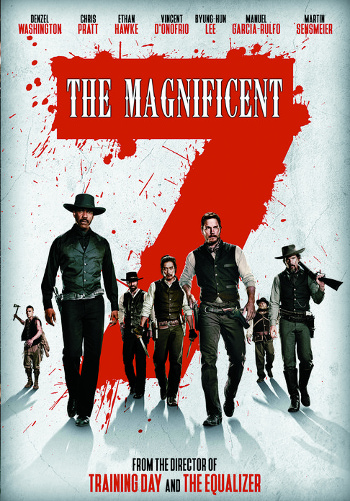 The Magnificent Seven (2016) DVD cover