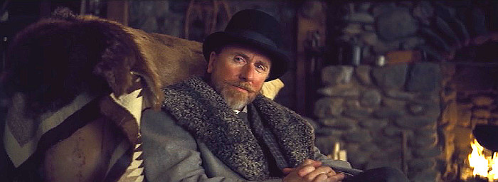 Tim Roth as Oswaldo Mobray in The Hateful Eight (2015)