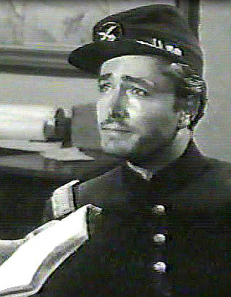 John Derek as Lt. Norman Tucker in Massacre at Sand Creek (1956)