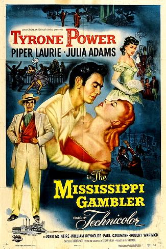 Mississippi Gambler (1953) poster
