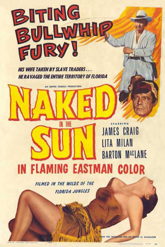 Naked in the Sun (1957) poster