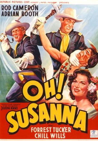 Oh, Susanna (1951) poster