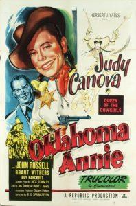 Oklahoma Annie (1952) poster