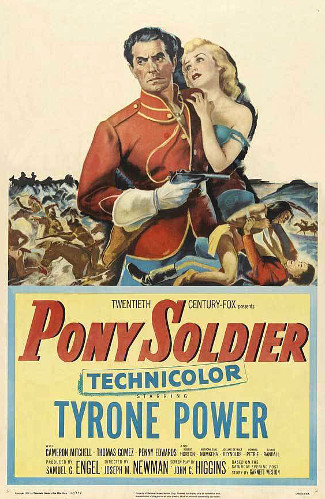 Pony Soldier (1952) poster