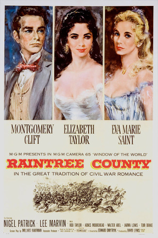 Raintree County (1957) poster