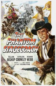 The Phantom Stagecoach (1957) poster