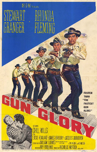Gun Glory (1957) poster