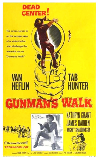 Gunman's Walk (1958) poster