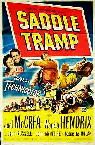 Saddle Tramp (1950) poster