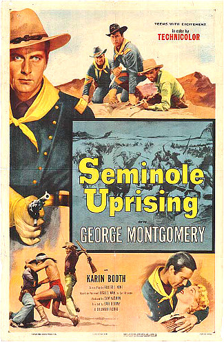 Seminole Uprising (1955) poster