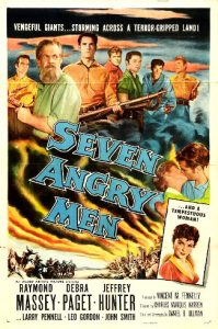 Seven Angry Men (1955) poster
