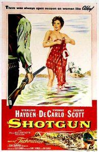 Shotgun (1955) poster