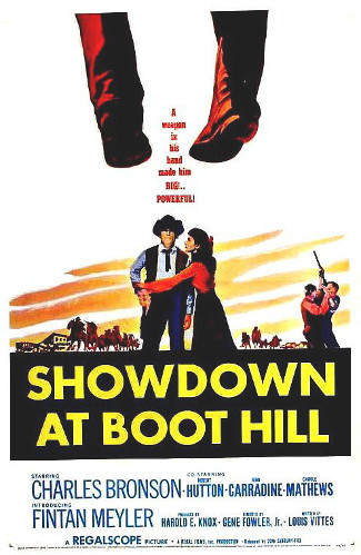 Showdown at Boot Hill (1958) poster