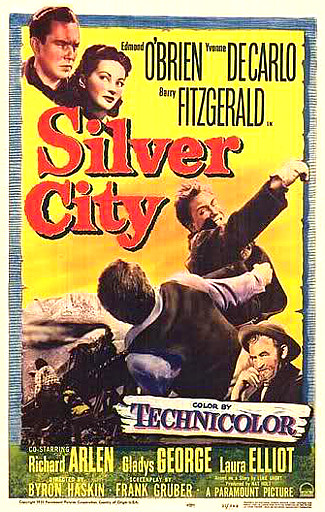 Silver City (1951) poster
