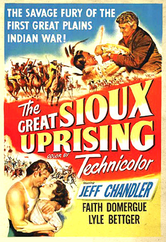 The Great Sioux Uprising (1953) poster