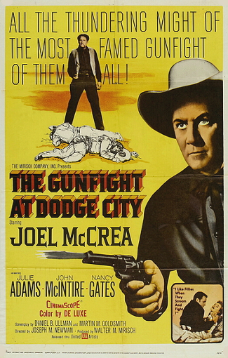 The Gunfight at Dodge City (1959) poster
