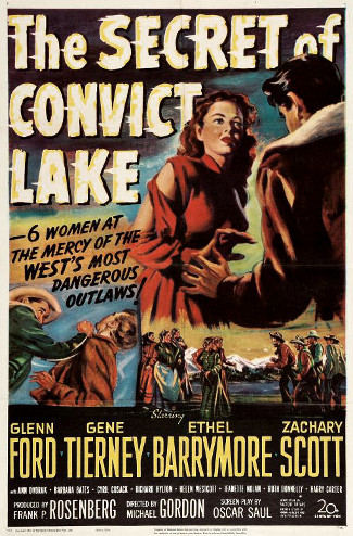 The Secret of Convict Lake (1951) poster