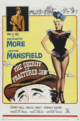The Sheriff of Fractured Jaw (1958) poster