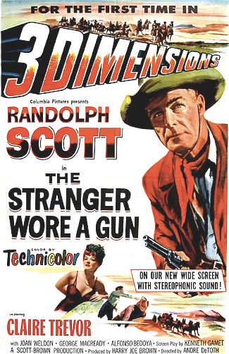 The Stranger Wore a Gun (1953) poster