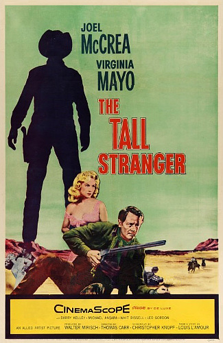 The Tall Stranger (1957) poster