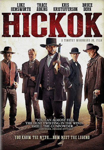 Hickok (2017) DVD cover