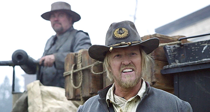 Jake Busey as Col. Jackson Boomer in Dead Again in Tombstone (2017)