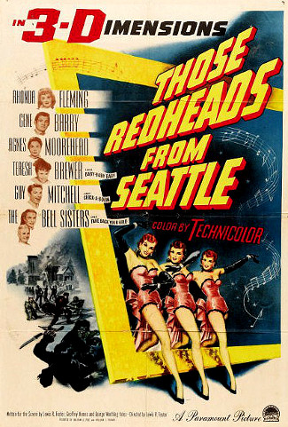 Those Redheads from Seattle (1953) poster