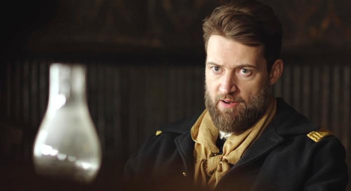 Cru Ennis as Capt. Lewis in Justice (2017)