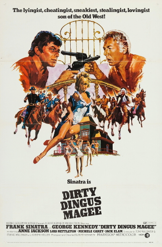 Dirty Dingus Magee (1970) poster