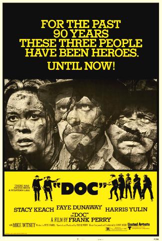 Doc (1971) poster