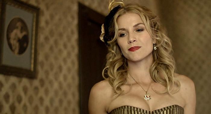 Ellen Hollman as Ginny in Justice (2017)