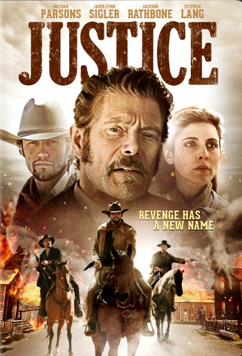 Justice (2017) DVD cover