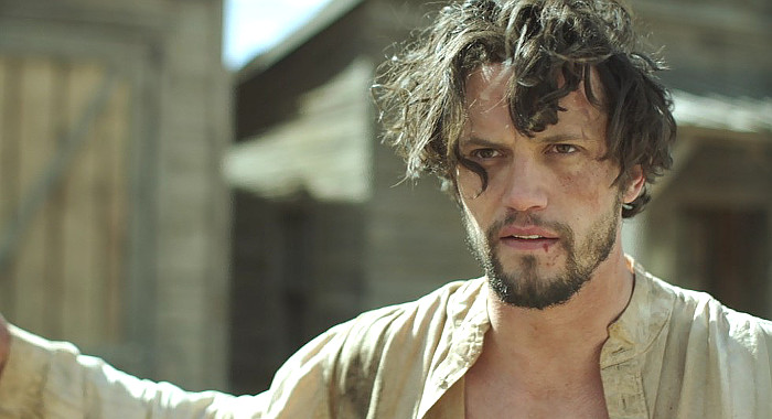 Nathan Parsons as Marshal James McCord in Justice (2017)