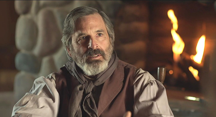Robert Carradine as Stratton Collins in Justice (2017)