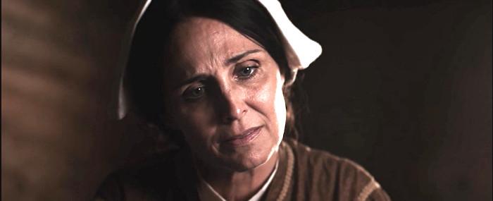 Sherry Morris as the nurse in Union Bound (2016)