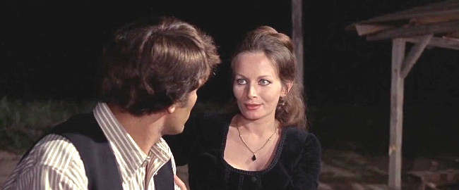 Anna Orso as Eileen Cutcher in Day of Anger (1967)