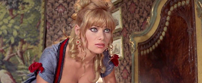 Christa Linder as Gwen in Day of Anger (1967)