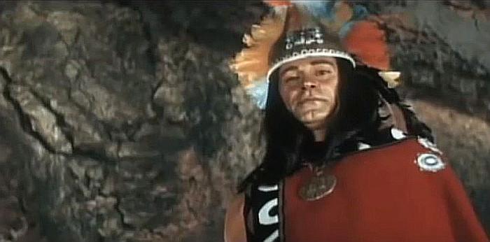 Cihangir Gaffari as Shayowteewah in Yellow Hair and the Fortress of Gold (1984)