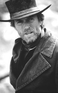 Clint Eastwood as The Preacher in Pale Rider (1985)