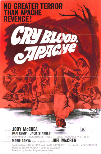 Cry Blood, Apache (1970) poster