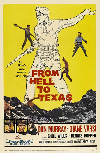 From Hell to Texas (1958) poster