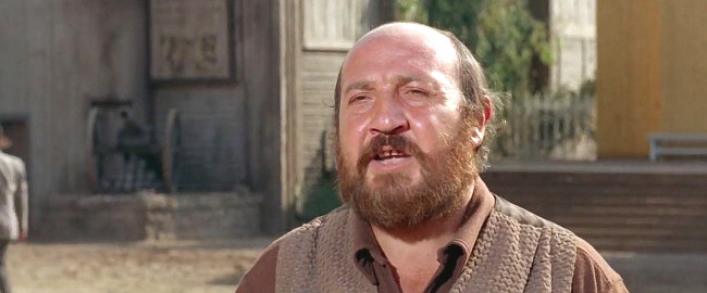 Giorgio Gargiullo as Sheriff Nigel in Day of Anger (1967)