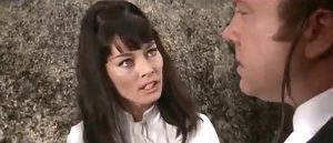 Helga Sommerfield as Cora Morton in Black Eagle of Sante Fe (1965)