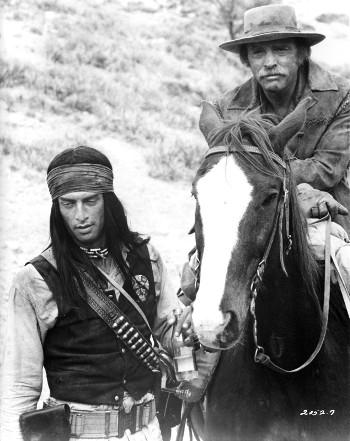 orge Luke as Ke-Ni_Tay and Burt Lancaster as McIntosh in Ulzana's Raid (1972)
