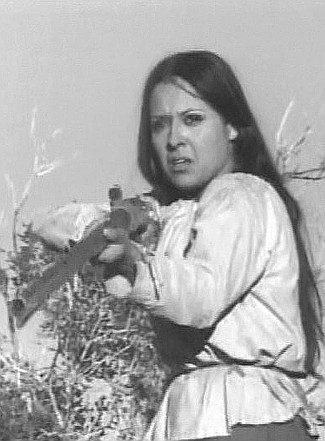 Maria Gahva as Jemme in Cry Blood Apache (1970)