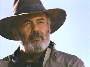 Pernell Roberts as Marshal Dancey in Desperado (1987)