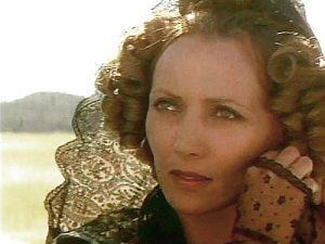 Stephane Audran as The Widow in Eagle's Wing (1980)