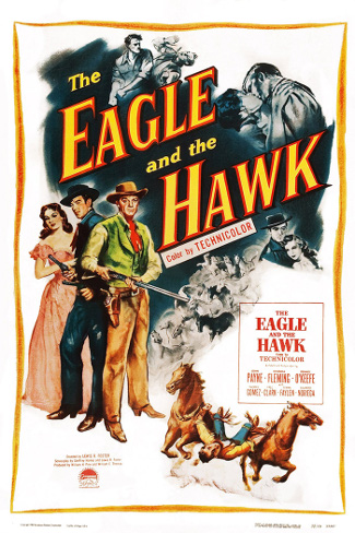 The Eagle and the Hawk (1950) poster